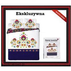 Pościel 200 x 220 Łowicka Satyna Bawełniana