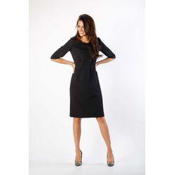 09fd65ff7e suknie sukienki klasyczna sukienka welniana s22 czarna - porównaj ...