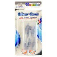 SilverCare Interdental Brushes ISO 5 Extra Large 6szt U Szczoteczka do zębów końcówka między zębowa 1,6mm