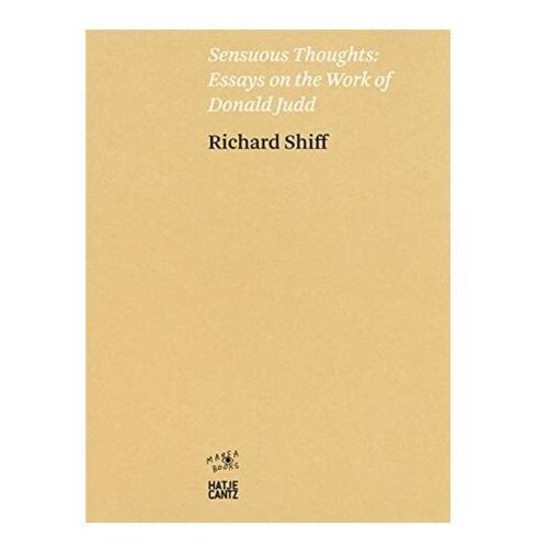 Richard Shiff. Sensuous Thoughts