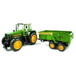 Traktor z przyczepą duży RC 4CH