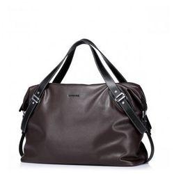Pojemna męska torba podrózna Kawa - Sammons