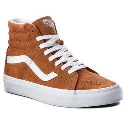 2f4571d907 Sneakersy VANS - Sk8-Hi Reissue VN0A2XSBU5K (Pig Suede) Leather Brown