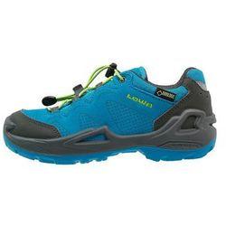 Lowa DIEGO GTX Obuwie hikingowe blau/limone