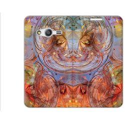 Flex Book Fantastic - Samsung Galaxy Trend 2 Lite - pokrowiec na telefon - kolorowe kwiaty