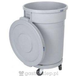 Kosz na odpadki 120l | KN-120-GR