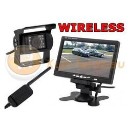 Kamera Cofania Bezprzewodowa Monitor LCD 7