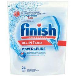 FINISH 24szt Powerball All in 1 Max Power&Pure Tabletki do mycia n
