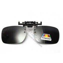 Nakładki polaryzacyjne na okulary korekcyjne - czarne
