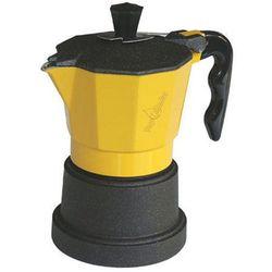 Kawiarka Top Moka TOP 3 filiżanki - czarno żółta
