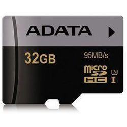 Adata microSD Premier Pro 32GB UHS-1/U3/CL10 + adapter DARMOWA DOSTAWA DO 400 SALONÓW !!