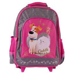 Plecak na kółkach Pets dla dziewczynki