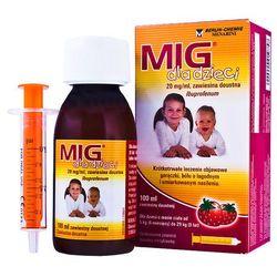 Mig Forte zawiesina dla dzieci 40mg/ml 100 ml