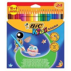 Kredki ołówkowe Bic Kids Evolution 920298 24kol.