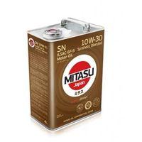 MITASU MOTOR OIL SN 10W-30 ILSAC GF-5 SYNTHETIC BLENDED 4L