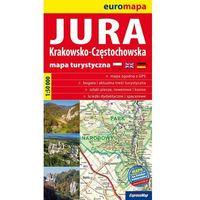 JURA KRAKOWSKO-CZĘSTOCHOWSKA. MAPA TURYSTYCZNA 1 : 50 000 (opr. broszurowa)
