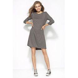 Sukienka z dłuższym tyłem al25
