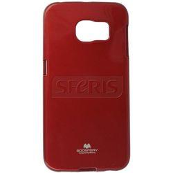 Etui JELLY CASE do Samsung Galaxy S6 edge Czerwony - JC-S6E-R