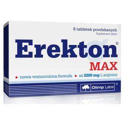 Erekton Max x 8 tabletek