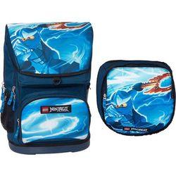 LEGO Ninjago, Jay, plecak duży + worek, niebieski Darmowa dostawa do sklepów SMYK