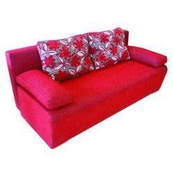 Rozkładana sofa LARA ENRICO 5646/466+5618/466 – Czerwona