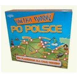 Wielka podróż po Polsce - gra planszowa