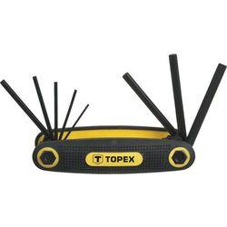Zestaw kluczy 1,5-6 mm 8 szt. Topex
