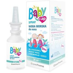 Babycap Woda morska do nosa 30 ml
