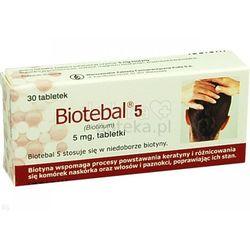 Biotebal 5 tabl. 5 mg 30 tabl.