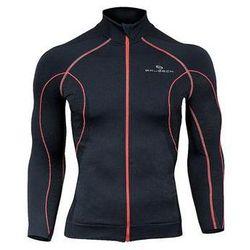 Bluza damska z membraną wiatroszczelną LS11050 Brubeck (Kolor: Czerwony, Rozmiar: L)