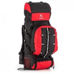 7b65aa2e465e7 Yukatana Almer plecak trekkingowy 80l 40x80x35 cm daypack czarny/czerwony