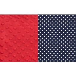 La Millou Kocyk 75 x 65 Polka dots czerwony