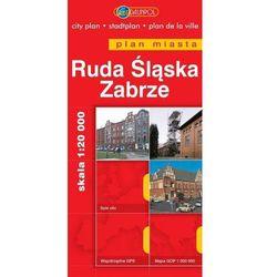 Ruda Śląska. Zabrze. Plan miasta w skali 1:20 000 - Praca zbiorowa (opr. miękka)