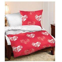 Pościel Satyna Romantic Czerwona 220x200