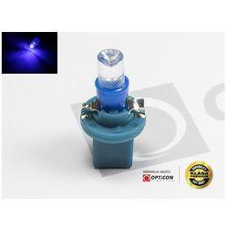 Żarówka 24V T5 R5 LED 1xDip Walcowa w Oprawce Bx8.5d Niebieski