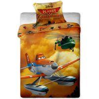 Jerry Fabrics Dziecięca pościel bawełniana Planes 2, 140 x 200 cm, 70 x 90 cm