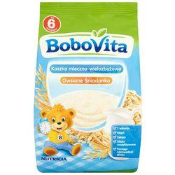 BOBOVITA 230g Kaszka mleczno wielozbożowa Owsiane śniadanko po 6 miesi