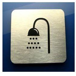 Piktogram Symbol Łazienka-Prysznic DIBOND ALU R