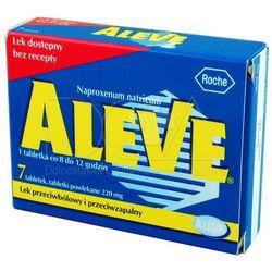 Aleve, tabletki powlekane, 220 mg, 7 szt