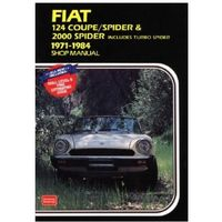 Fiat 124 Coupe/Spider and 2000 Spider 1971-84 Owner's Workshop Manual