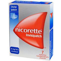 Nicorette Invisipatch 15mh/16h *7plastrów