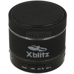 Głośnik XBLITZ Iluminated HD czarny wejściem na kartę microSD + zestaw głosnomówiący