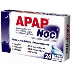 Apap Noc tabletki powlekane 24 sztuki