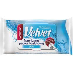 VELVET 42szt Nawilżany papier toaletowy