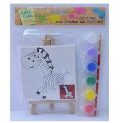 Zestaw do malowania- Zebra
