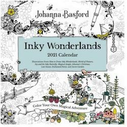 Johanna Basford 2021 Coloring Day-to-Day Calendar