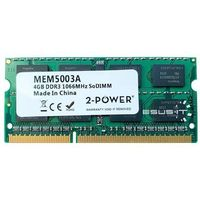 Pamięć RAM 1x 4GB 2-POWER SO-DIMM DDR3 1066MHz PC3-8500 | MEM5003A