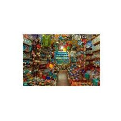Foto naklejka samoprzylepna 100 x 100 cm - Wielkie sklepy bazar w Istambule.