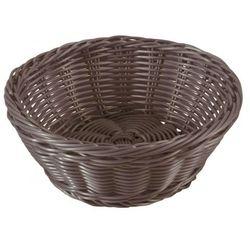 Koszyk okrągły 21 cm brown Sante (śr. 21 cm)