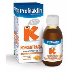 Profilaktin Koncentracja syrop (smak pomarańczowy) 115 ml